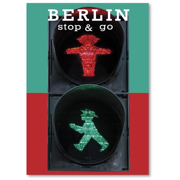 Postkarte Standard HF Berlin stop & go