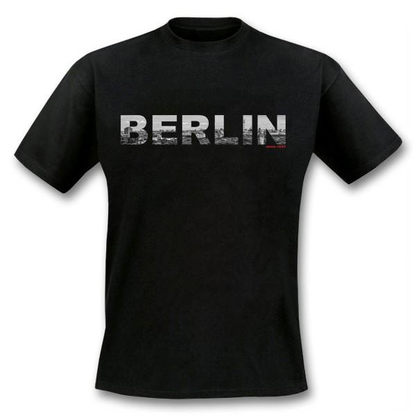 H Shirt Panorama schwarz S
