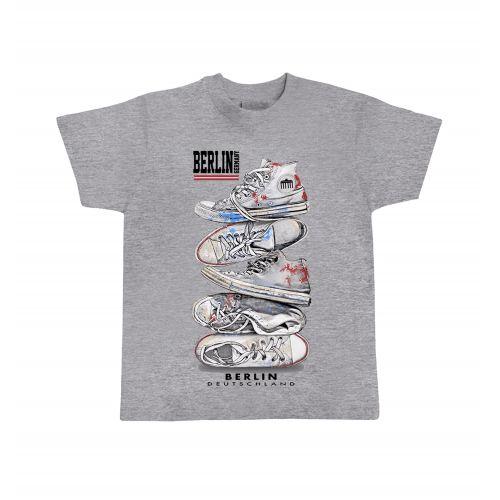 K Shirt urban shoes hell grau