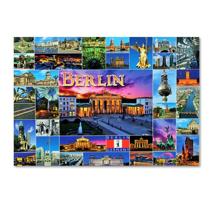 Postkarte Standard QF 36 Bilder BT Berlin