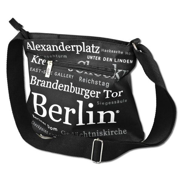 Tasche Mittel Print Modern schwarz