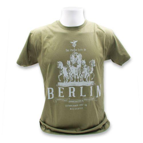 H Shirt Brandels Wapon B. grün