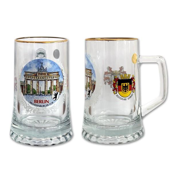 Sternseidel 0,4l OD BT + BW + Bundeswappen Berlin