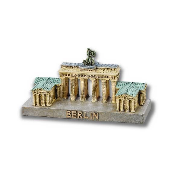 Miniatur Poly Brandenburger Tor 5x10cm