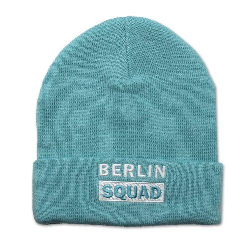 Mütze Berlin Squad blau