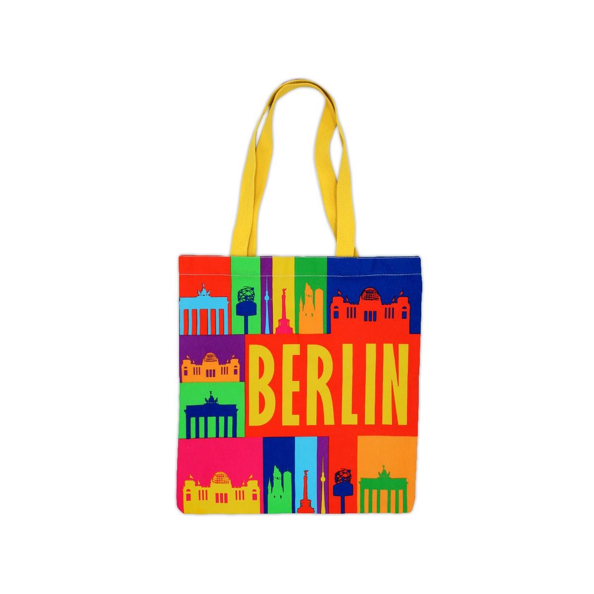 BW-Beutel Berlin bunt