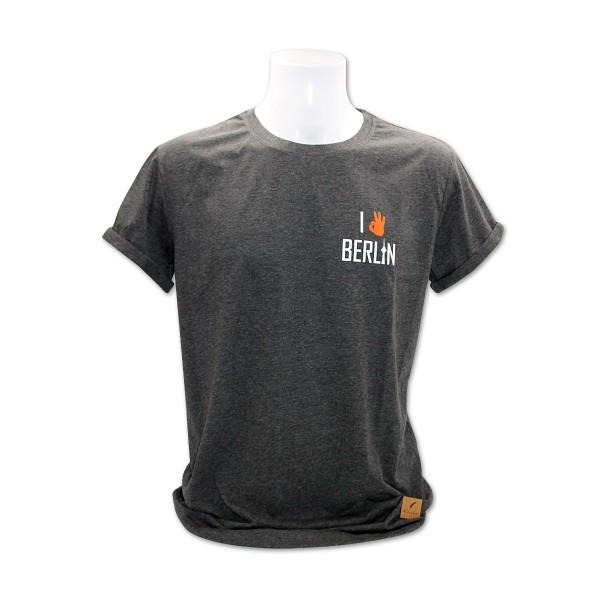 H Shirt Kleinigkeit Funkturm grau Größe M