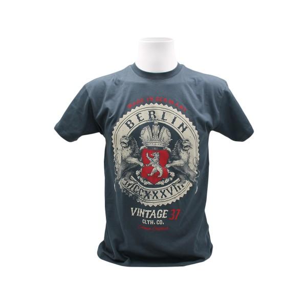 H Shirt Berlin Vintage Rock Größe S