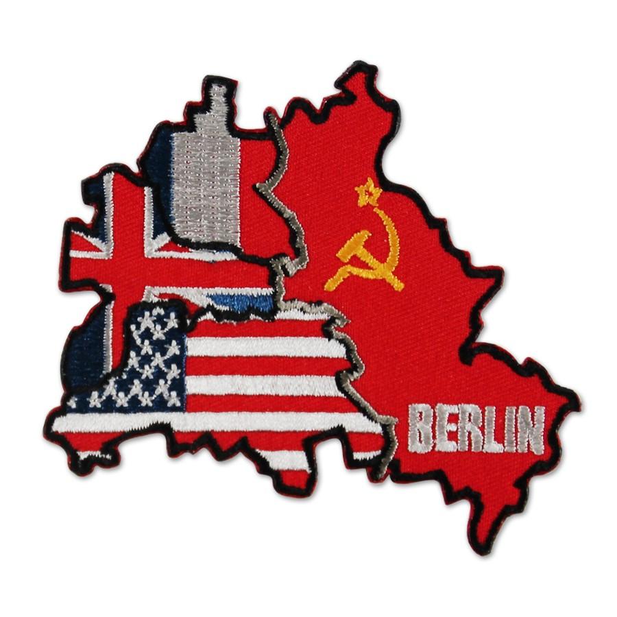 Aufnäher Berlin Sektoren gestickt