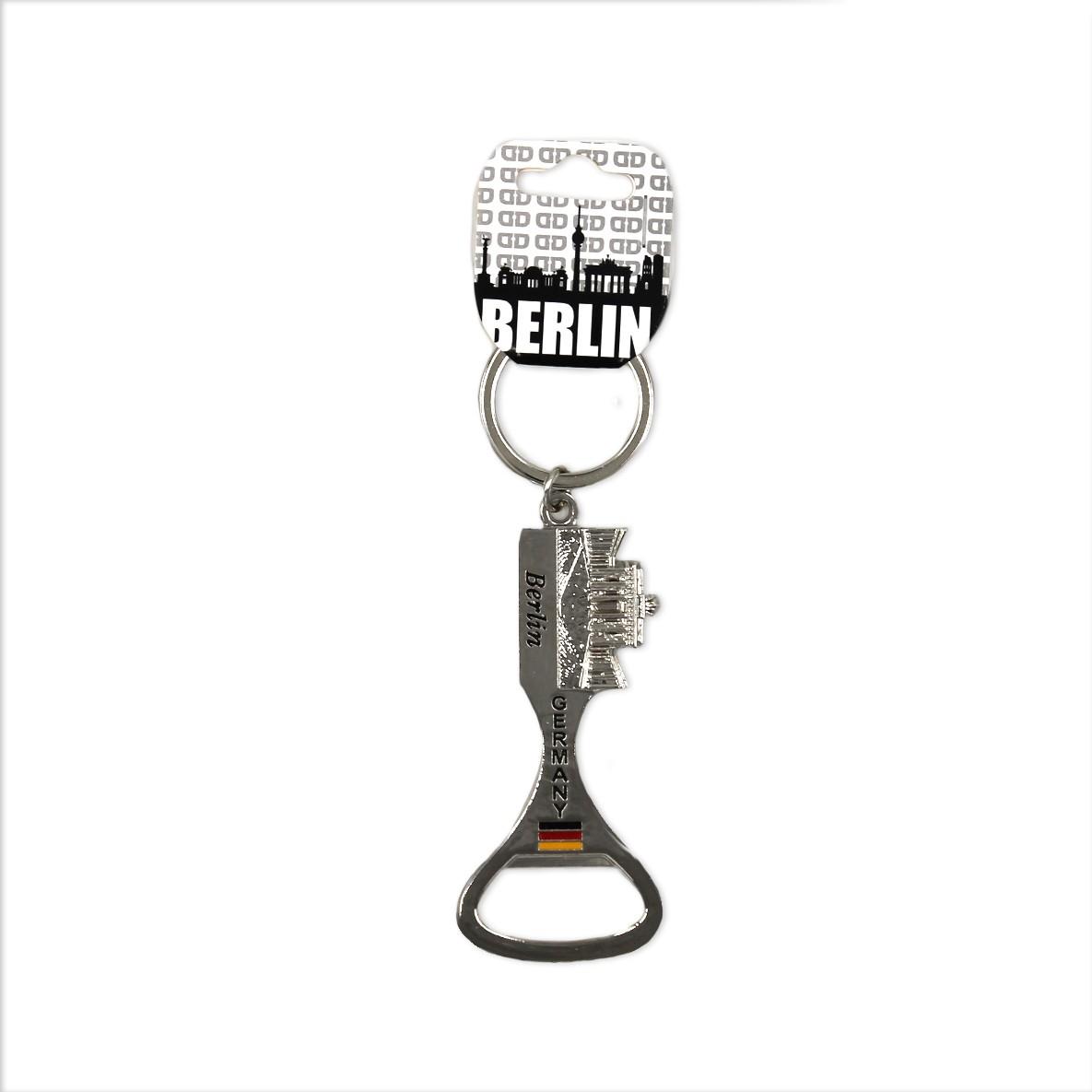 Schlüsselanh. Metall Flaschenöffner BT Germany