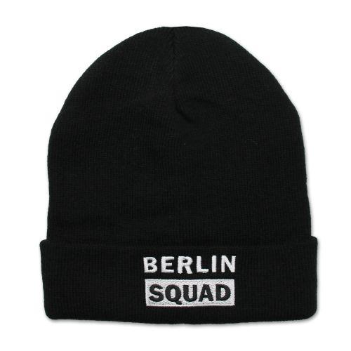 Mütze Berlin Squad schwarz