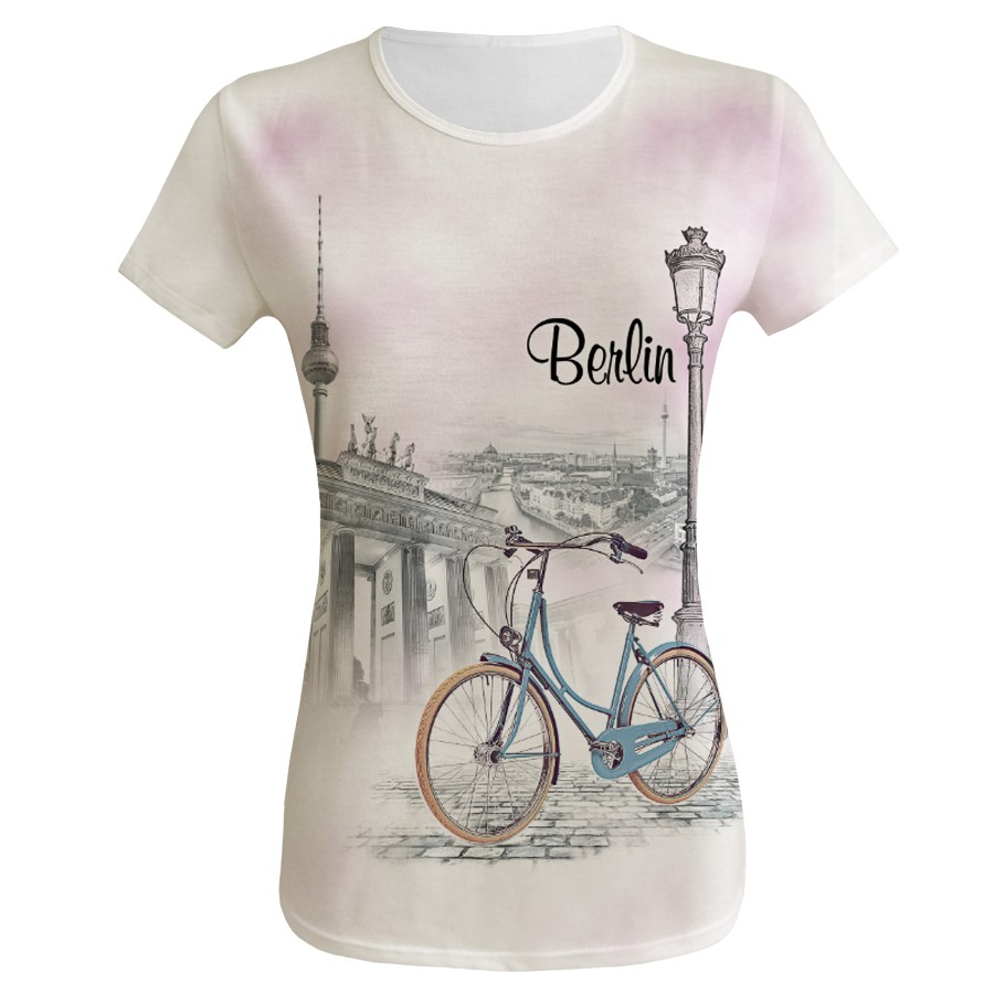 D Shirt Berlin Bicycle