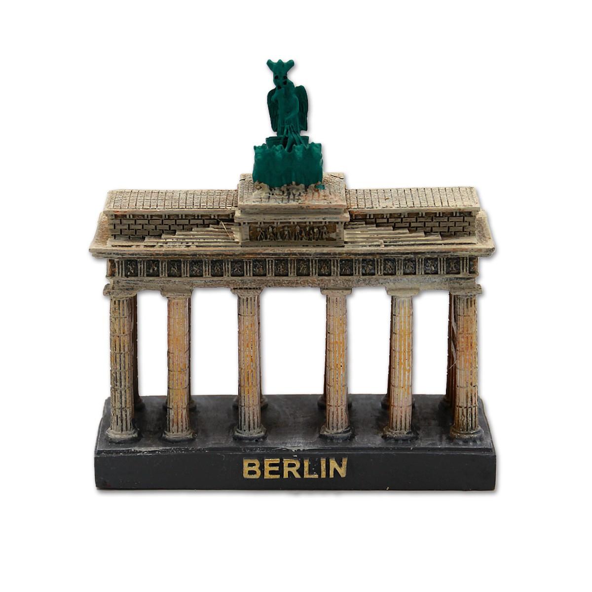 Miniatur Poly Brandenburger Tor 7x7,5cm