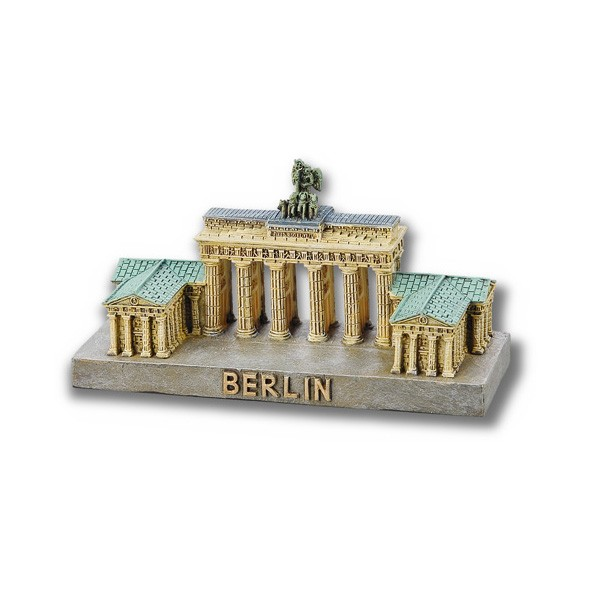 Miniatur Poly Brandenburger Tor 6x11cm