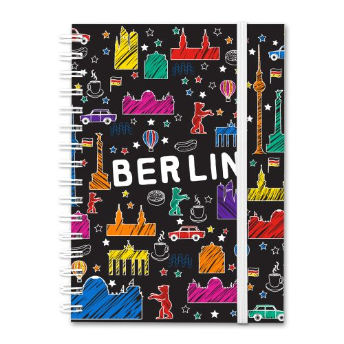 Notizbuch Scribble schwarz