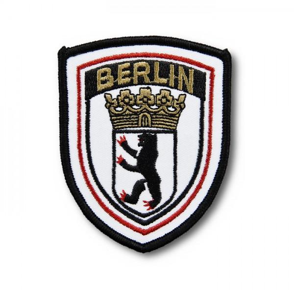 Aufnäher Wappen Berliner Wappen gestickt