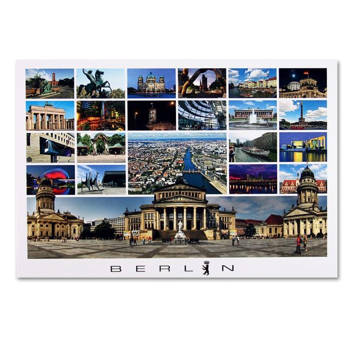 Postkarte Standard QF Berlin 22er bild