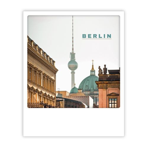Polaroid Karte berlin summer vibes Berlin