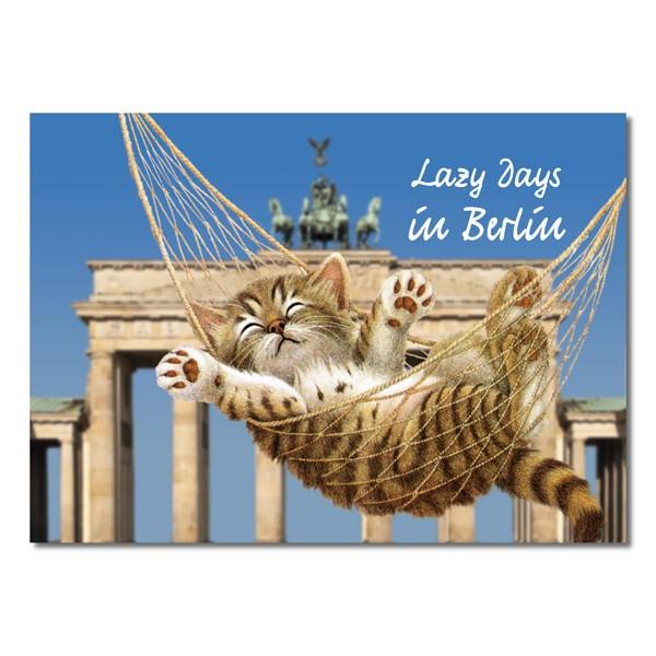 Postkarte Standard QF Lazy Days in Berlin