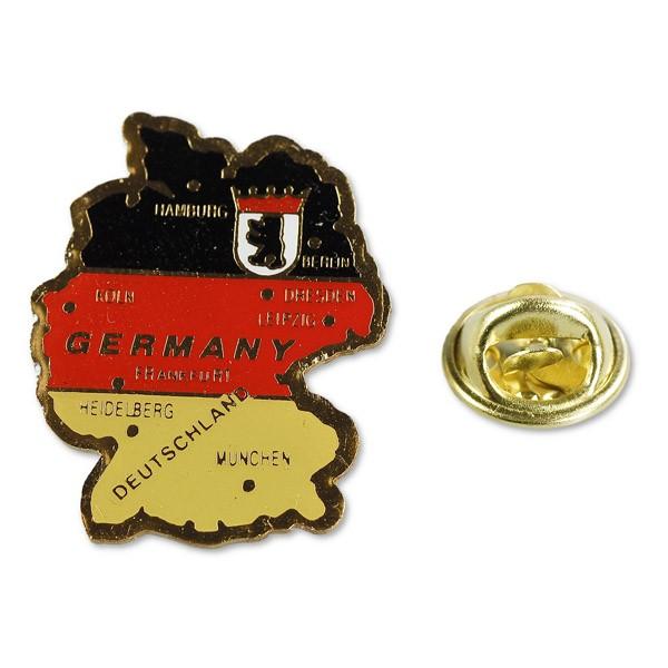Pin Landkarte Germany