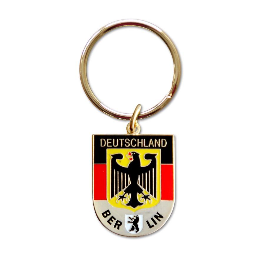 Schlüsselanhänger D Wappen mit Berlin