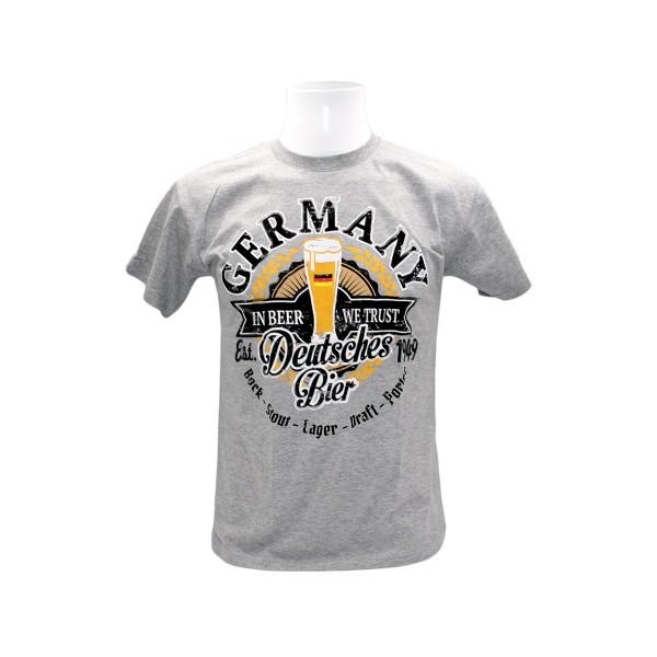 H Shirt Berlin in beer we trust Germany Größe S