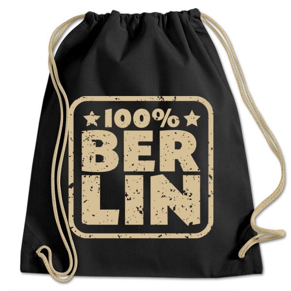 Sportbeutel BW 100% Berlin schwarz