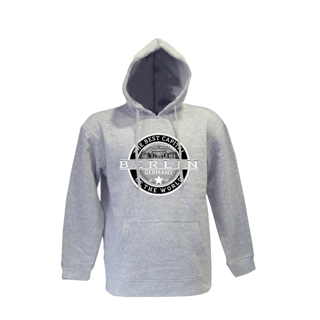 K Sweater Best Berlin hell grau