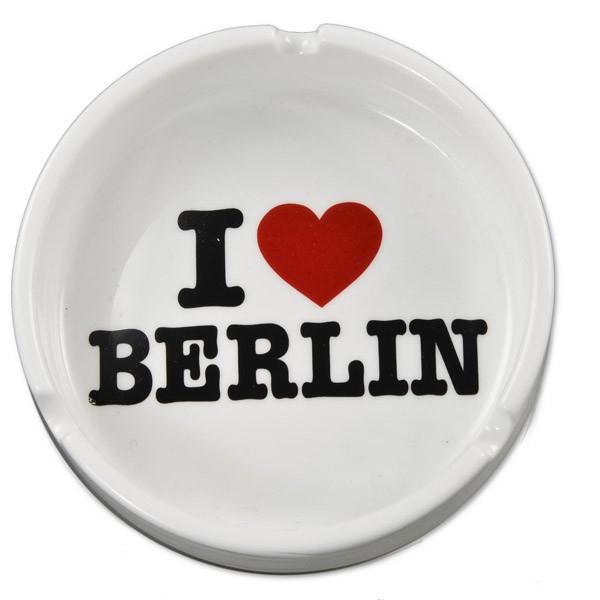Aschenbecher Porzellan I (Herz) Berlin weiss