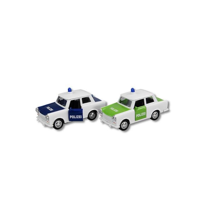 Trabant Polizei farb sort 12cm