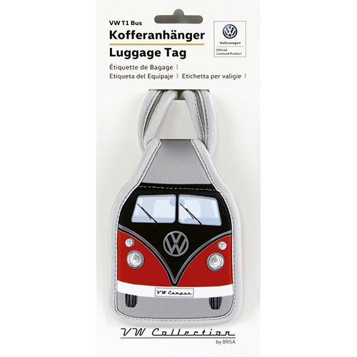VW T1 Bus Kofferanhänger rot schwarz