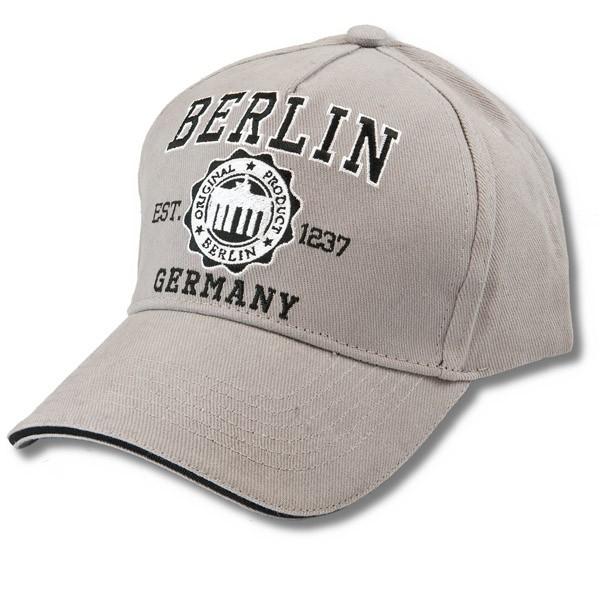 Basecap Tower design Berlin grau
