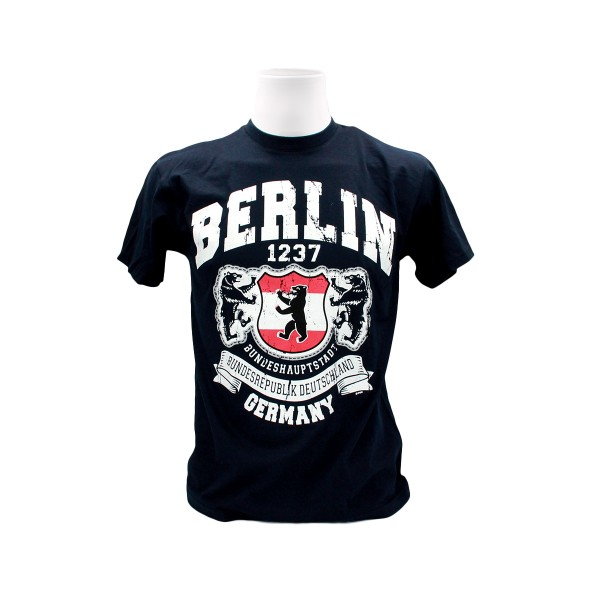 H Shirt Berlin Banner Weapon Größe S