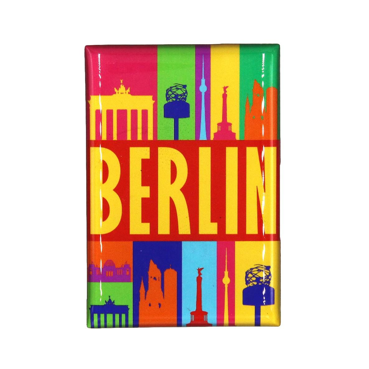 Fotomagnet Berlin Bunt