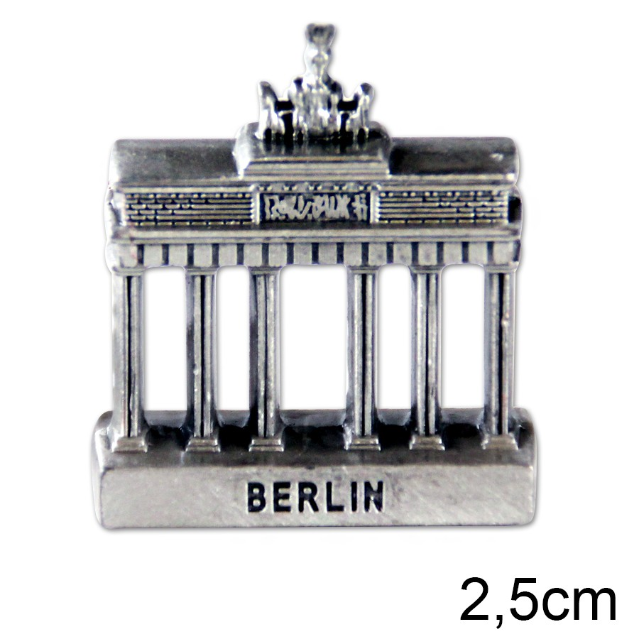 Miniatur Metall Brandenburger Tor 2,5cm