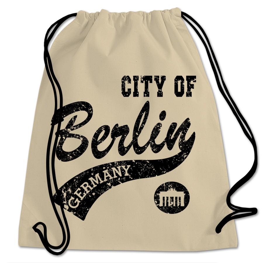 Sportbeutel BW City of Berlin natur