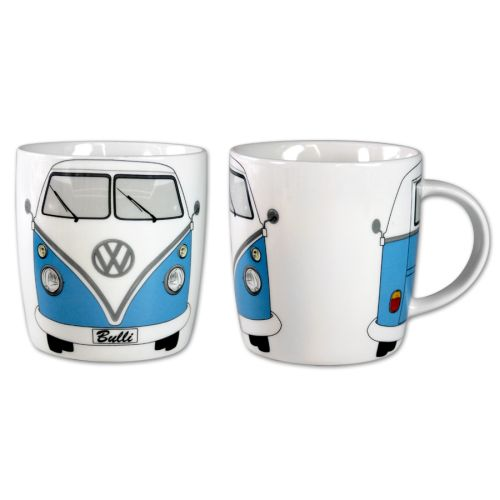 VW T1 Bus Kaffeetasse 370ml in Box - blau
