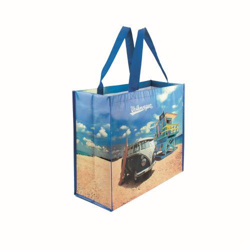 VW T1 BUS SHOPPER BAG - BEACH LIFE