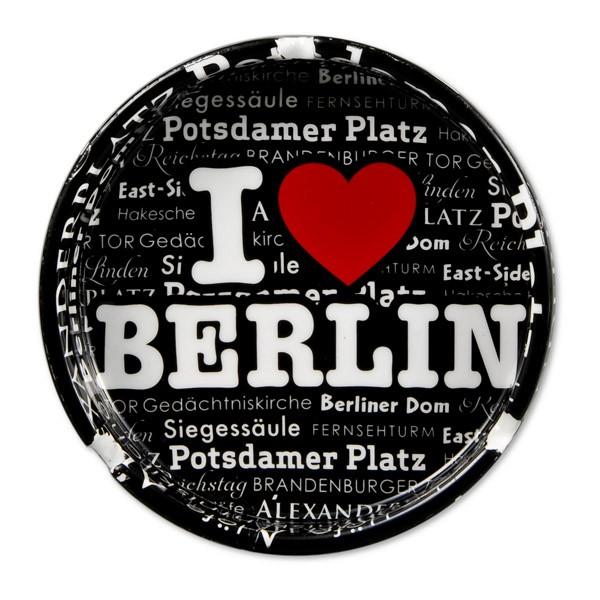 Aschenbecher Porzellan Endless Heart Berlin