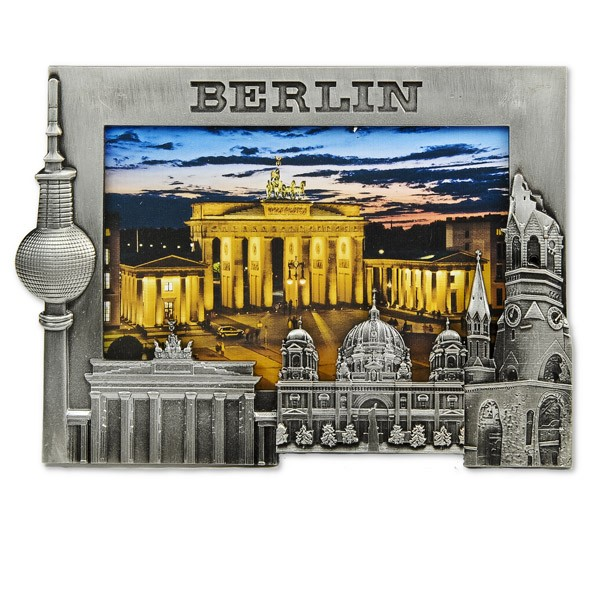 Bilderrahmen Metall Berliner Sehenswürdigkeiten