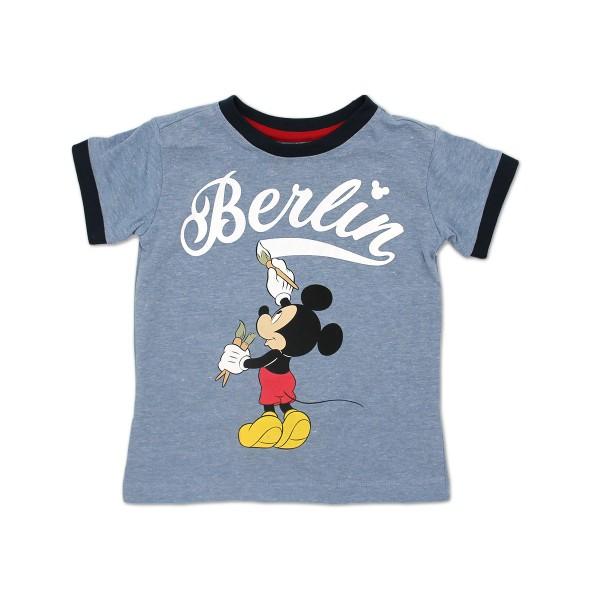 K shirt Mickey Berlin blue melange Größe 92