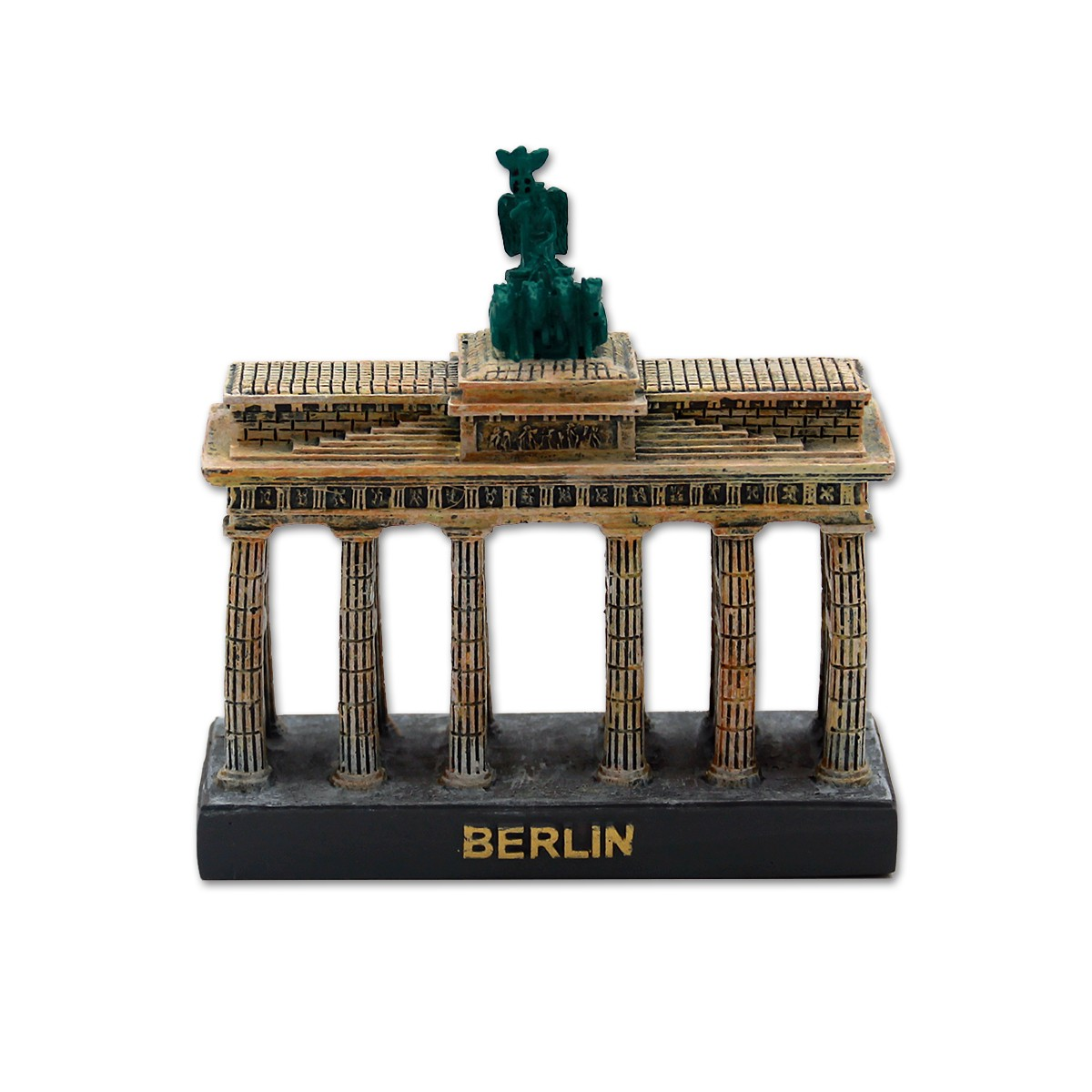 Miniatur Poly Brandenburger Tor 10x9cm