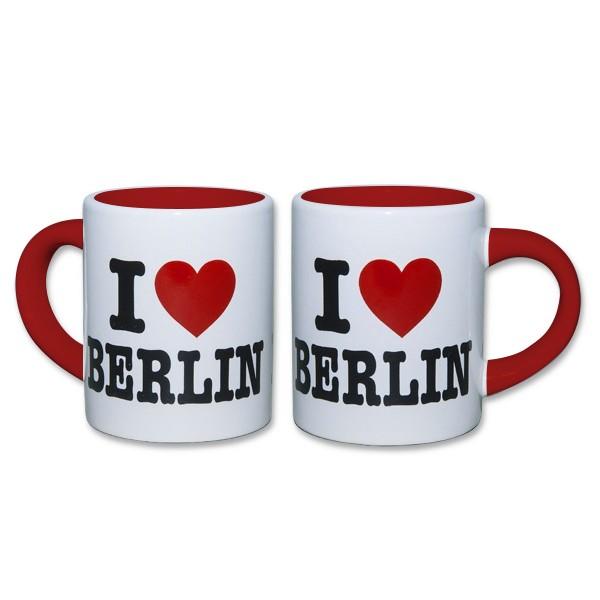 Tasse Kinder I (Herz) Berlin weiss