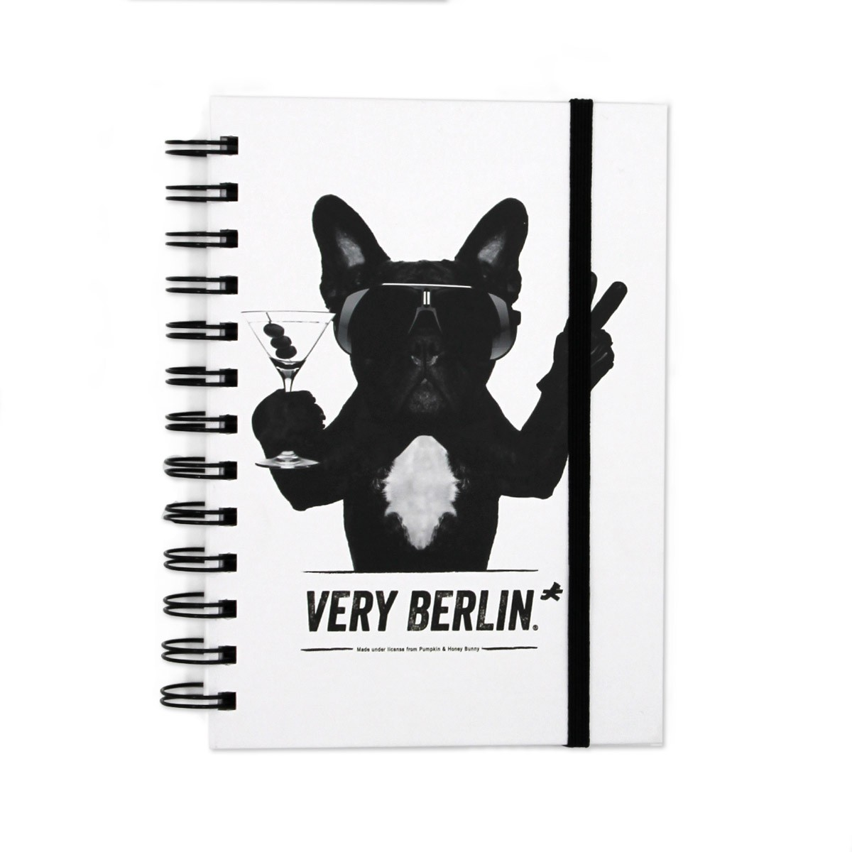 Notizbuch Bulldog