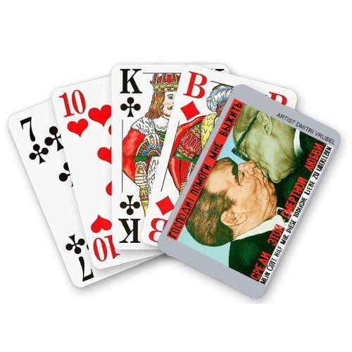 Spielkarten Bruderkuss