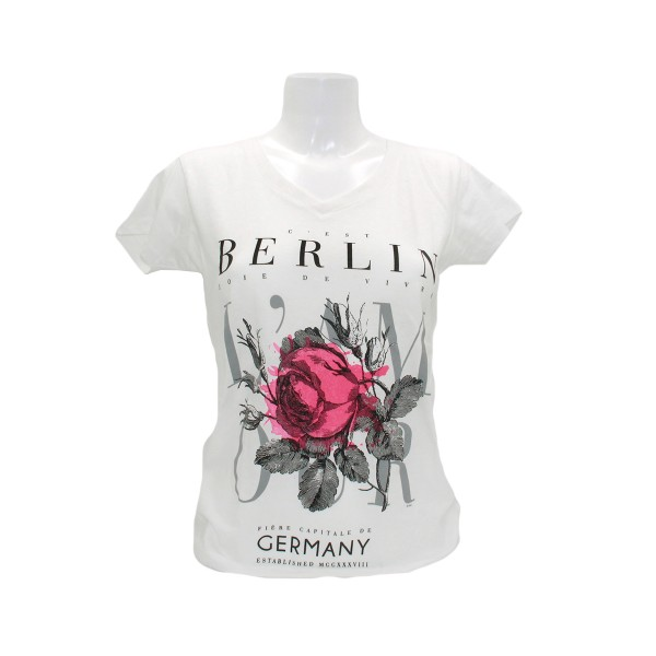 D Shirt V-Neck Cést Berlin