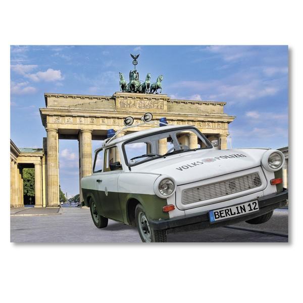 Postkarte Standard QF Berlin Brandenburger Tor