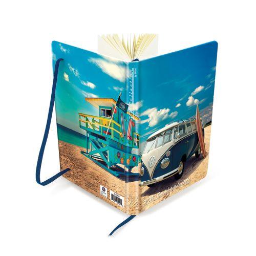 VW T1 Bus Notizbuch DIN A5 liniert Beachlife