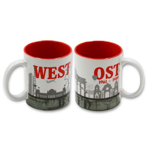 Tasse Berlin Ost-West