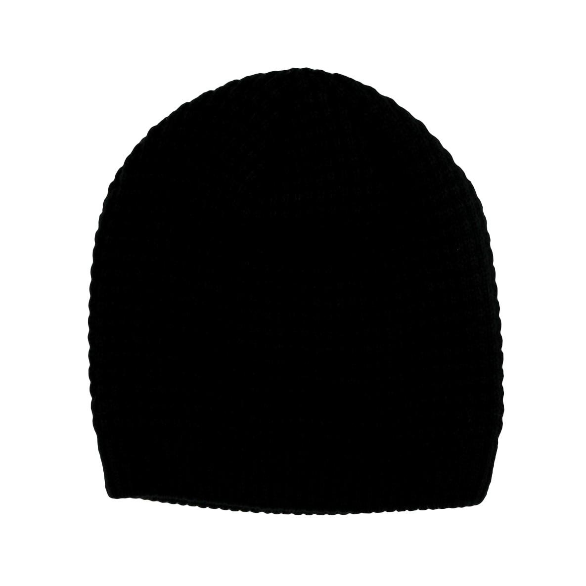 Mütze Strick schwarz